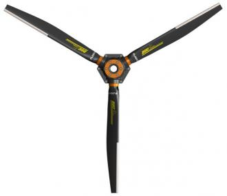 3-blade Inconel FLASH-3 propeller, Right